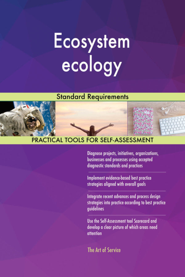 Ecosystem ecology Standard Requirements